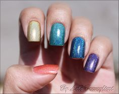 Brushed Ombre Accent Nail Tutorial