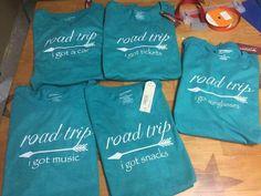 Road trip shirts