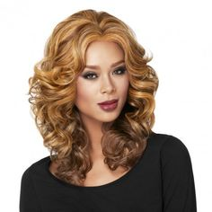 Casual Curl Lace Front | Shoulder Length | LUXHAIR ™ NOW