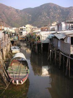 Tai O, fishermen's village Hong Kong
