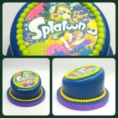 Minicake Standard Splatoon #pritycakes #PrityCakes #cakes #tortas #edibleprints #splatoon #wiiu
