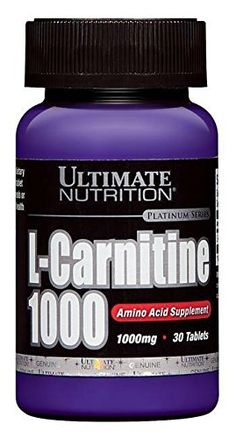 Ultimate Nutrition L-Carnitine Fat Burning Amino Acid Supplement - Promotes Mood, Cognitive Function, and Memory - Increases Endurance and Boosts Recovery Tablets - Pantothenic Acid, Amino Acids, Healthy Tips, Health Fitness, Nutrition, Image Link, Note, Amazon, Health