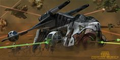 This scene was made for the CG Society Hardcore modelling Challenge. It is a LAAT/i Republic Gunship from Star Wars Episo. Star Wars Clone Wars, Star Wars Rpg, Star Wars Ships, Images Star Wars, Star Wars Pictures, Starwars, Republic Gunship, Nave Star Wars, Star Wars Personajes