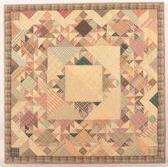 Motif géométrique Lit Quilt.