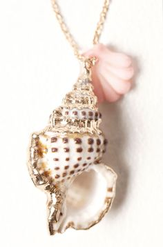 I wonder how you do the silver trim on the shell... Hmmm #shell #shells #jewelery