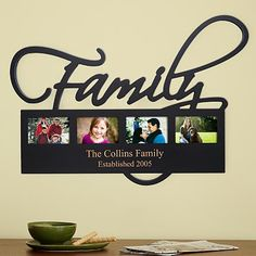 Home/Family Photo Plaque | Personal Creations