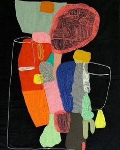 Sewing Online, Textiles, Cotton Velvet, Textile Artists, Fabric Art, Embroidery Applique, Collage Art, Fiber Art, Painting & Drawing