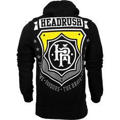 Headrush Chosen Few Badge Zip Hoodie - MMAWarehouse.com - MMA Gear, MMA Clothing, MMA Shorts, MMA Gloves, MMA Shirts and more! Mma Shirts, Mma Gear, Workout Equipment, Cool Gear, Fitness Apparel, Kickboxing, Muay Thai, Zip Hoodie, Shirt Designs