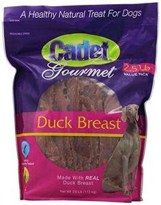 Cadet Duck Dog Treats, 2.5-Pounds Cadet http://www.amazon.com/dp/B003621V98/ref=cm_sw_r_pi_dp_kEZXtb1V2YZ8ZYV4