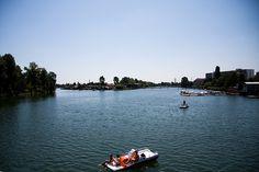 VIENNA - Donau insel