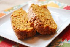 Moist pumpkin bread! Has 5 star rating out of  over 5,500 reviews.