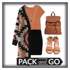 """Pack and Go"" by chanelmcclain71 on Polyvore featuring H&M, T By Alexander Wang, Forever 21 and Billabong"