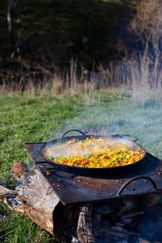 Paddock paella
