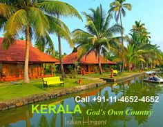 Kerala, in south India, is often referred to as ‪#GodsOwnCountry . Duration:-(10 Nights / 11 Days) Destinations Covered:- Cochin-Munnar-Thekkady-Kumarakom-Alleppey-Kovalam Send your query: SMS/Whats App Flexi- Domestic  on +91-9811251108 OR Call +91-11-4652-4652