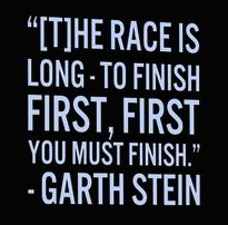 Garth Stein, The Art of Racing in the Rain