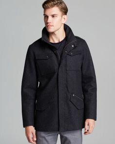 Victorinox wool highlander. Shield yourself from the winter breeze. Quote of the day send 20% of the time talking about yourself and 80% engaging your partner. People judge a good conversation  by how much they talked. The more you can get the other person to talk the stronger the relationships you can build. #victorinox #mensclothing #mensdesignerclothing #mensfashion Designer Clothes For Men, Breeze, Quote Of The Day, Conversation, Relationships, Suit Jacket, Leather Jacket, Ootd, Mens Fashion