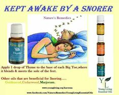 Young Living oils for snorning.  www.facebook.com/younglivingoils2013