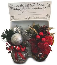 """GIVE THE GIFT OF STYLE A gift certificate from one of the island's most experienced hair stylists and a Redken Certified Hair Color Specialist is quite a treat! Kristin Hoffman and her staff make sure to give their guests the royal treatment during every """"styling"""" experience. You will also receive one of these ornaments with any gift certificate purchase. J Kris & Co. Salon, 2601 Demere Rd., 912.268.2870."""