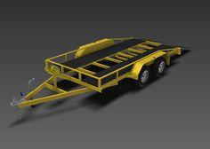 www.trailerplans.com.au Build your own 2500KG FLATBED TRAILER - Trailer Plans