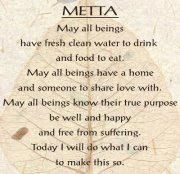 Yoga Quotes : Metta: A meditation of loving-kindness Buddhist Wisdom, Buddhist Meditation, Buddhist Prayer, Buddhist Quotes, Healing Meditation, Daily Meditation, Mindfulness Meditation, Spiritual Quotes, Meditation Images