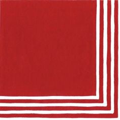 Entertaining with Caspari Stripe Border Paper Luncheon Napkins, Red, Pack of 20  byCaspari  Be the first to review this item | Like (0)  Price:$7.64
