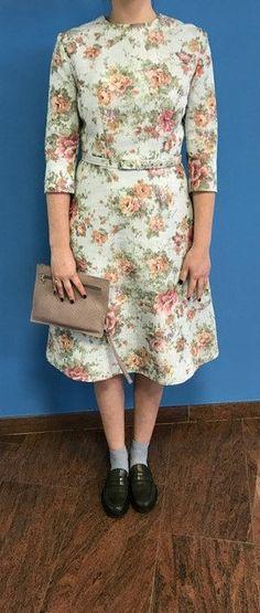 A-line Flower Dress van BYMPM op Etsy