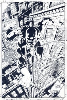 Joe Quesada's Daredevil.