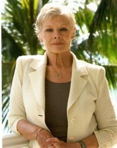 Effortlessly Classy and Timeless is the lovely Dame Judith Dench. Amazing how she always looks happy and glamorous.