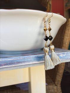 Boho tassel earrings September 🎁