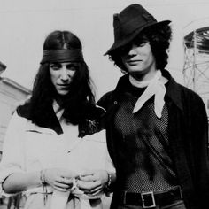 Patti Smith and Robert Mapplethorpe ☮www.purehouseibiza.com loves them ☮