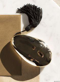 Gift Guide Day 8: Gold Hand Mirror, Alexis Bittar / Garance Doré