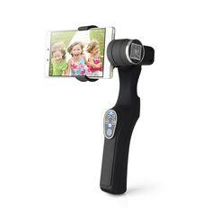 Wenpod X1 Stabilisateur d/'Image pour GoPro//Smartphone Noir