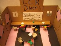 Here are the projects that students in Math have been working on. Their assignment was to create a miniature store, with prices, product. 8th Grade Math, Math Class, Teaching Math, Maths, Math Projects, School Games, Math Activities, Project Ideas, Toy Chest