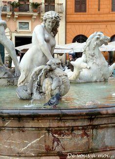 De vous à moi...: Amaretti, Affogato et Vacances Romaines (1)
