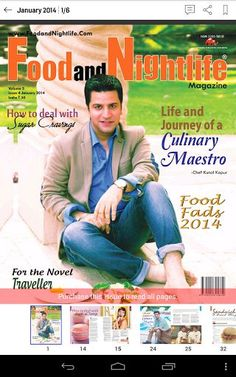 Description<p>Started in September, 2009, Food and Nightlife Magazine is India's first food and nightlife journal which holistically covers events, restaurants, clubs, page 3 parties and lifestyle. With an informative, yet entertaining write ups, it makes for a comprehensive read for an urban man who wants to be aware of the latest happenings and innovations.It not only keeps a close connect with the readers but also with the F&B industry which renders it immense accuracy. Within a short…