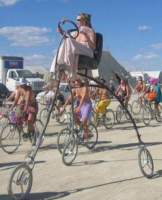 Triciclo sin motor :)