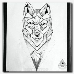 Geometric Wolf Wrist Tattoo Ideas for Women - Cool Unique Fox Animal Forearm Tat., - Geometric Wolf Wrist Tattoo Ideas for Women – Cool Unique Fox Animal Forearm Tat…, - Wolf Tattoos, Dreieckiges Tattoos, Kunst Tattoos, Black Tattoos, Tattoo Drawings, Sleeve Tattoos, Tree Tattoos, Girl Tattoos, Tatoos
