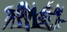 ArtStation - Celestials, Jessi Ochse - My best design list Character Concept, Character Art, Concept Art, Dark Fantasy, Fantasy Art, Animal Masks, Wow Art, Creature Concept, Character Design Inspiration