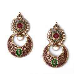 Indian Jadau earring