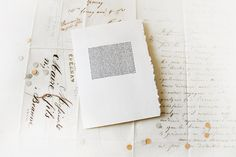 hand drawn card & envelope /// by BeautifulLine on Etsy, $4.00