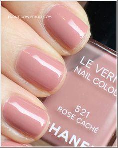 Chanel Rose Cache nail polish - My everyday polish of choice!