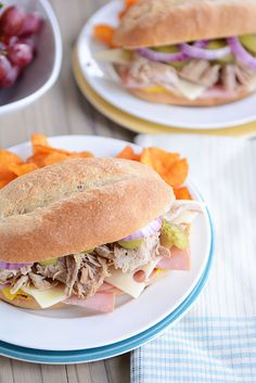 The Best Cuban Sandwich {Slow Cooker/Pressure Cooker}