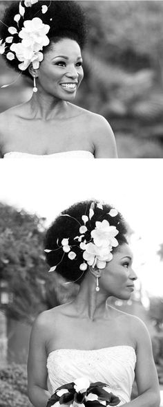 Love the hair! Not so sure about the hugeness of the flowers but some smaller ones maybe? Veil Hairstyles, Best Wedding Hairstyles, Pretty Hairstyles, Bridal Hair Inspiration, She Is Gorgeous, Peruvian Hair, Wedding Hair Pieces, Free Hair, Wedding Hair Accessories