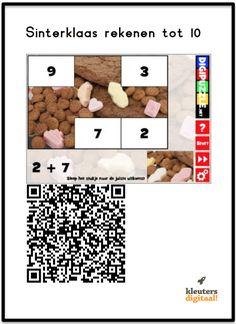 QR codes met Sinterklaas Ipad, Coding, School, Qr Codes, Learn German, Programming