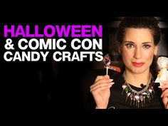 Ms Candy Blog\'s Candy Crafts: Comic Con & Halloween Lollipops #halloween #lollipops #candycrafts #crafts #crafting
