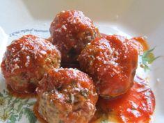 Ricotta Meatballs - Weight Watchers 1 PP per meatball