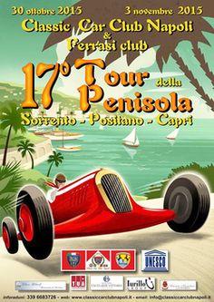 """Positano News - """"XVII Tour della Penisola"""": il fascino senza tempo del Classic Car Club Napoli di scena in Costiera"""