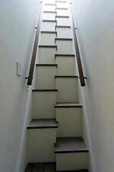 Very different staircase.  Good solution for a steep set of stairs.