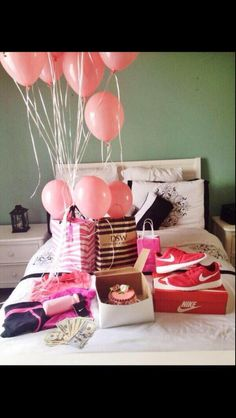 Imagine walking into this on your birthday!