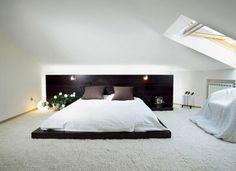 modern bedroom white carpet